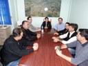 Chefe Regional da Casa Civil visitou Câmara de Matelândia.