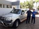Deputado Federal Giacobo destina caminhonete para Matelândia.