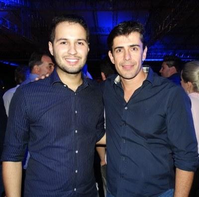 Deputados Estaduais Paulo Litro e André Bueno.