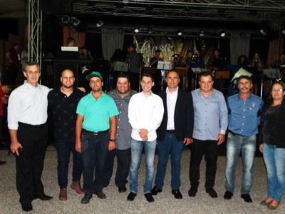 ExpoMatelandia 2017 - Vereadores prestigiaram a exposição.