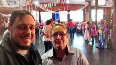Foi realizada no último sábado (24), a festa junina dos clubes da Terceira Idade de Matelândia.