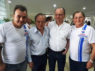 Ministro da Saúde Ricardor Barros esteve em Toledo.