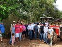 Município entrega trator e equipamentos à comunidade da Picada Benjamin