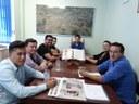 Prefeito de Ramilândia e comitiva visitam Gabriel Cadini.