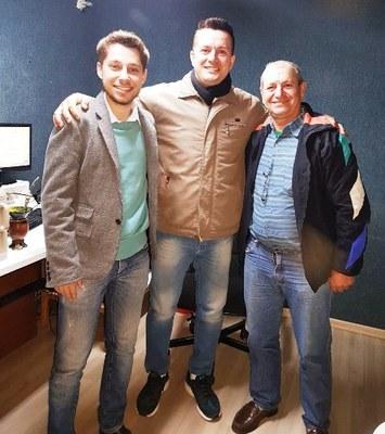 Presidente da Câmara foi entrevistado pela Rádio Matelândia.