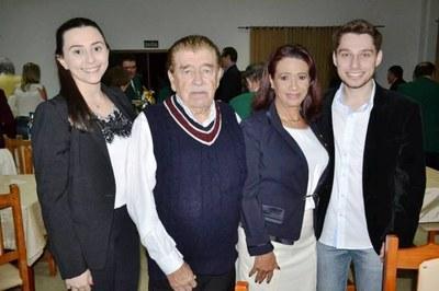 Presidente da Câmara prestigiou Posse de Nova Diretoria do Lions Clube.
