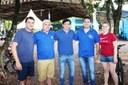 Vereador Aldair participou da 5ª Etapa do Cicloturismo Regional em Matelândia.