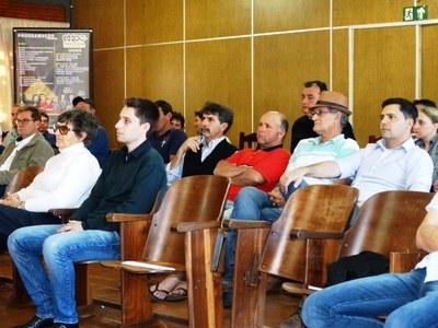 Vereadores acompanharam reunião do CSA em Matelândia.