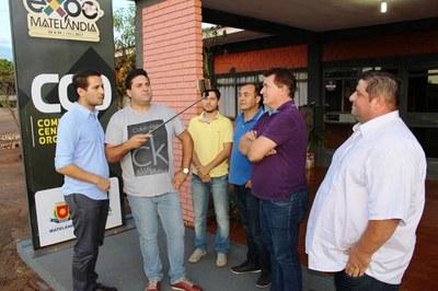 Vereadores Bedeco e Gabriel acompanharam visita do Deputado Paulo Litro a Matelândia