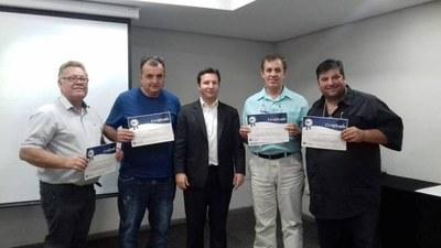 Vereadores de Matelândia participaram de curso sobre início de mandato módulo II em Curitiba.