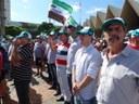 Vereadores de Matelândia participaram de manifestação contra a Reforma da Previdência em Cascavel