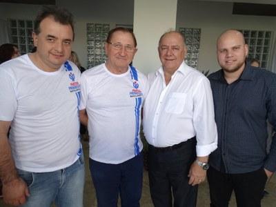 Vereadores do PP no encontrão em Toledo.