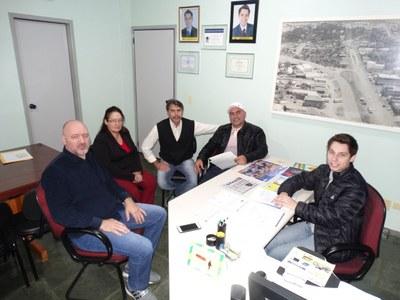 Vereadores estiveram reunidos com Secretário de Esportes.