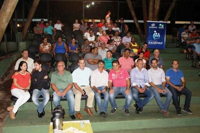 Vereadores marcaram presença em reunião realizada pela SANEPAR em Matelândia.