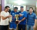 Vereadores prestigiaram finais do Campeonato de Futebol Sete.