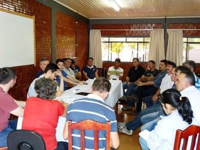 Vereadores prestigiaram reunião do Conselho de Agricultura.