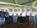 Vereadores também visitaram a EMATER no show rural.