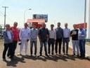 Com visita a Fábrica de Iogurtes da Frimesa vereadores iniciam roteiro de visita às empresas de Matelândia.