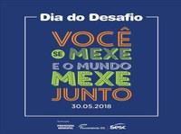 Dia do Desafio 2018: Prefeitura de Matelândia e SESC promovem evento nesta quarta-feira.