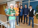 Dia do desafio é hoje: vereadores de Matelândia participaram da atividade de abertura oficial