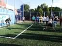 Mini-Arena esportiva é inaugurada em Agro-Cafeeira.