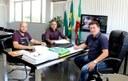 Prefeito Texerinha recebeu os vereadores Aldair e Rafinha no Paço Municipal