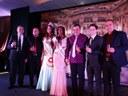 Presidente da Câmara Gabriel Cadini e vereadores prestigiam o Concurso Miss Matelândia 2017