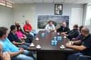 Recém-eleito a Câmara Federal Schiavinato visitou prefeito, vereadores e lideranças do PP de Matelândia.