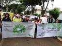 Vereadores acompanham abertura da Semana do Meio Ambiente em Matelândia.