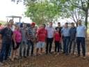 Vereadores acompanham entrega de máquinas e equipamentos para Associação de Moradores do Banco da Terra.