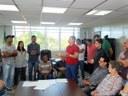 Vereadores acompanharam reunião dos moradores do bairro Jardim Tropical com o prefeito Texerinha.