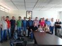 Vereadores acompanharam reunião dos moradores do bairro São Cristóvão com o prefeito Texerinha.