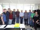 Vereadores acompanharam visita do Deputado Federal Valdir Rossoni a Matelândia.