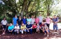 Vereadores Adilto e Rafael estiveram nas comunidades da Picada Benjamin e Banco da Terra.