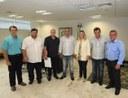 Vereadores do PP, visitaram governadora em exercício.