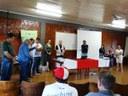 Vereadores estiveram na abertura do Curso de APICULTURA.